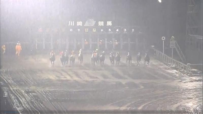 川崎競馬台風