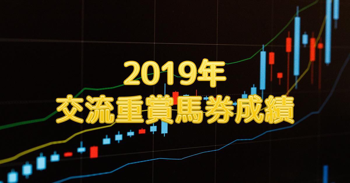2019年交流重賞馬券成績